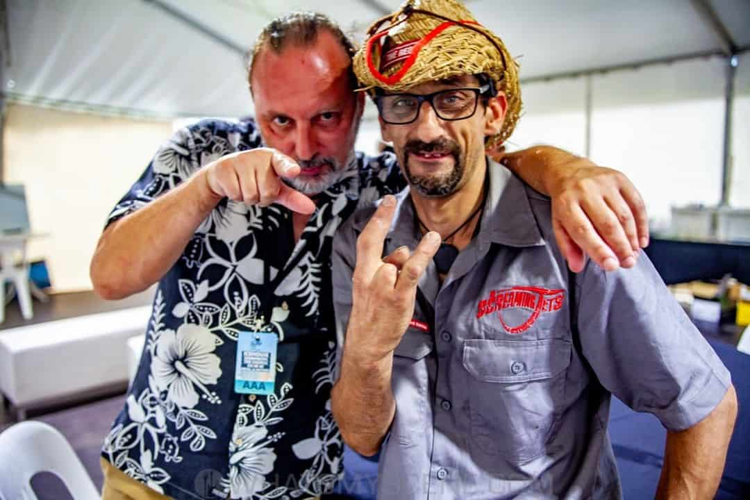 Martin Cilia & Falcon - By the C Woolongong 21st Jan 2019