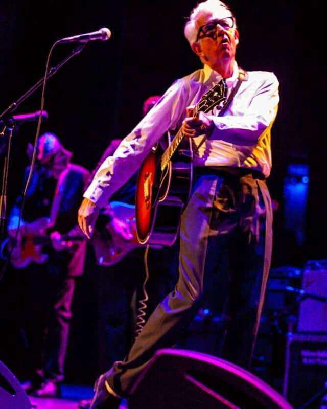 Nick Lowe with Los Straitjackets, Feb 2020