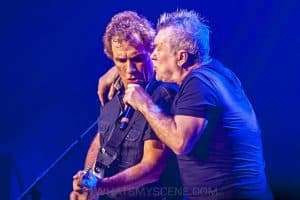 Ian Moss & Jimmy Barnes at Hisense Arena, June 2017