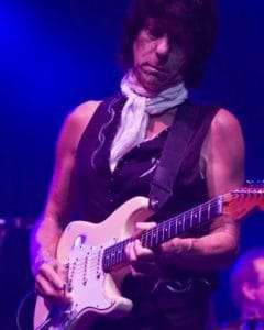 Jeff Beck at the Palais in 2009