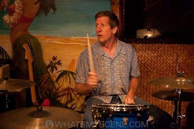 Drummer Dusty Watson at Don the Beachcombers, 2011