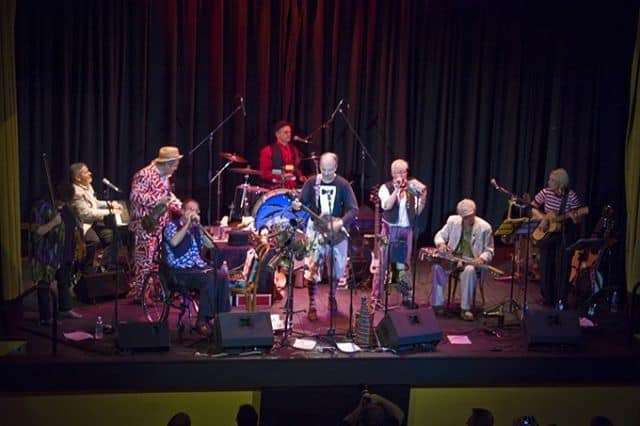 Captain Matchbox at Ormond Hall, 2011