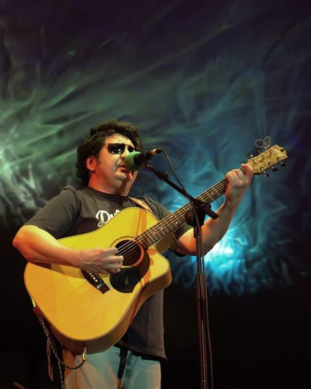 Richard Clapton at the first Adelaide Guitar Festival 2007