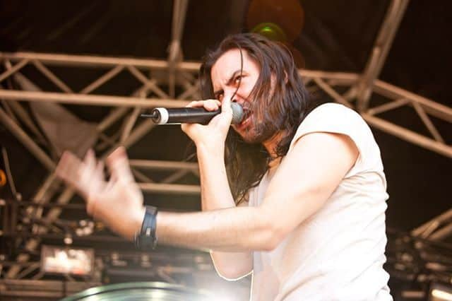 Andrew WK at the Big Day Out, 2011