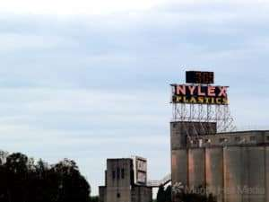 The old Nylex sign from a few years ago