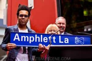 Amphlett Lane Dedication, Amphlett Lane, 18th February 2015